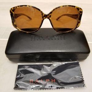 Ralph Lauren Tortoise Sunglasses with Case & Cloth